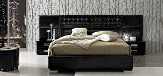 Black Lacquer Bedroom Furniture La Star Composition 6 High Gloss Black Lacquer Bed Beds