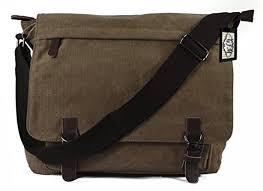 sacoche de bureau gfm sacoche ou sac à bandoulière toile style classique grande taille