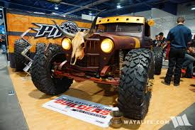 hauk jeep 2016 sema pitbull tires hauk willys ratrod