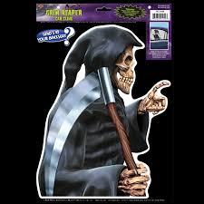 Skeleton Halloween Prop Life Size Gothic Grim Reaper Sickle Zombie Horror Halloween Prop