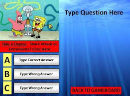 spongebob review game template powerpoint by bethany silver tpt