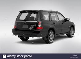 subaru sport 2008 2008 subaru forester sports 2 5 xt in gray rear angle view stock