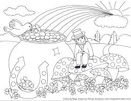 articles with st patrick day coloring pages crafts tag st