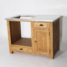 meuble cuisine pour plaque de cuisson meuble de cuisine en bois pour four et plaques cagne made in