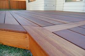 Patio Decking Kits by Patio Use Mahogany Decking Have A Deck That Will Stand Out