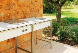 Portable Outdoor Kitchens - kitchen fabulous outdoor bbq island outdoor garden sink station