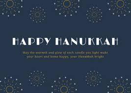hanukkah cards customize 46 hanukkah card templates online canva