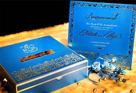 wedding card design india voguish wedding invitations turquoise metal