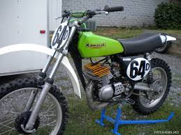 restored vintage motocross bikes for sale 1975 kawasaki kx250 with mods showcase bike vintagemx net