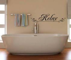 Spa Art For Bathroom - relax wall decal bathroom wall decal bathroom vinyl decal bathroom