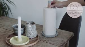 kitchen towel holder ideas how to a paper towel holder by søstrene grene diy