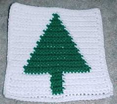 row count christmas tree afghan square crochet pattern free