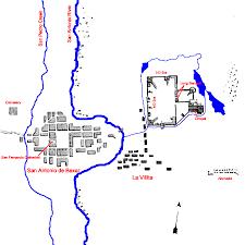 Westward Expansion Map Map Of San Antonio De Bexar