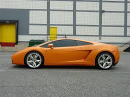 Lamborghini Gallardo Orange - 2007 lamborghini gallardo corsa motors