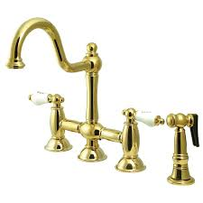 bridge kitchen faucets get a bridge style kitchen sink faucet