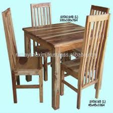 indian wood dining table wooden square dining table set dining room furniture chair hotel
