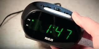 clock radio with night light rca alarm clock radio detailed review of digital alarm clock with