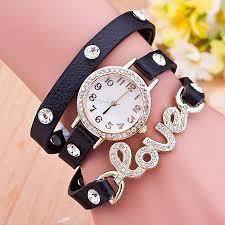 multi strap bracelet images Haorui studded multi strap bracelet watch blackitech ghana jpg