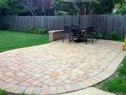 Paver Patio Designs by Kidney Bean Shaped Patio Design By Chicagoland Patio Builder