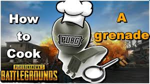 pubg how to cook grenades pubg how to cook a grenade in pubg xbox one youtube