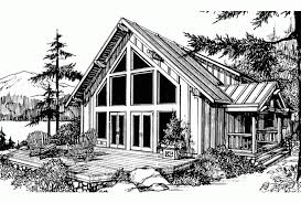 chalet home plans eplans chalet house plan one bedroom chalet 2273 square