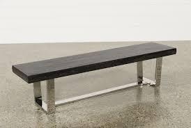 bateau grey bench living spaces