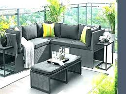 Outdoor Modern Patio Furniture Modern Outdoor Furniture For Small Spaces Choosing Best Patio