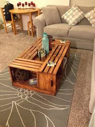 Wine Coffee Table Wine Crate Coffee Table Diy Nrhcares