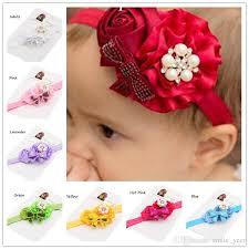 newborn bows baby headband hair bows dressy headwrap newborn baby hair