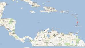 St Lucia Island Map Saint Lucia Map