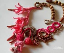 beautiful necklace designs images Beautiful crochet necklace patterns and designs jpg