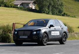 suv bentley 2016 2016 bentley suv captured testing in its production body photos