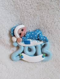 2013 baby ornament child baby toddler baby shower gift