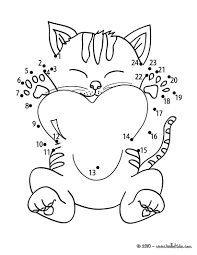 beloved kitten coloring pages hellokids com