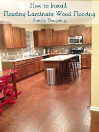 Kitchen Laminate Floor How To Install Floating Wood Laminate Flooring Part 1 The