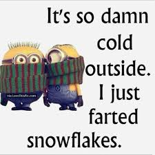 So Cold Meme - it was once so cold outside that when i farted they hit the ground