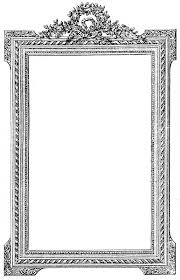 Photo Frame Antique French Picture Frame Clip Art Image Graphics Fairy