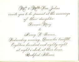 wedding invitations letter wedding card best wedding invitations formal letter sle wedding