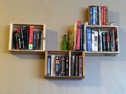 Mounted Bookshelf Wall Mounted Bookshelf Diy Home Design Ideas