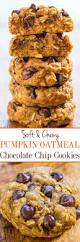 thanksgiving chocolate chip cookies soft and chewy pumpkin oatmeal chocolate chip cookies averie cooks