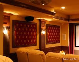 Home Theatre Sconces Custom Fabrication U0026 Acoustic Panels Kole Digital