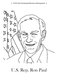 vote 2012 presidential election coloring book december 2011