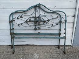 Antique Cast Iron Bed Frame An Wrought Iron Headboard Loccie Better Homes Gardens Ideas