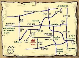 kentucky map bardstown map1 jpg