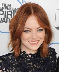 2015 hair color trends for 15 year olds see a cute 15 year old emma stone with brown hair and tiny eyebrows