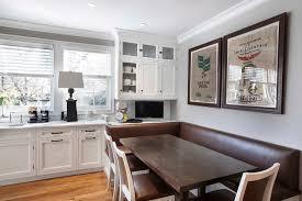 Kitchen Booth Designs Novenstein Transitional Kitchen New York By Johnstone