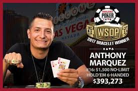 2017 world series of poker final table anthony marquez wins 2017 world series of poker 1 500 six max no