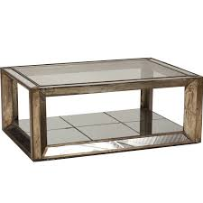 Coffee Table With Drawers by Ideas Mesmerizing Mirrored Coffee Table With Glass And Wood