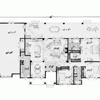 small single story house plans home architecture floorplan bedrooms bathrooms square feet dream