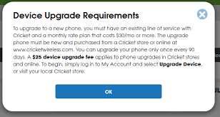 cricket wireless black friday cricket wireless 25 phone upgrade fee requirements